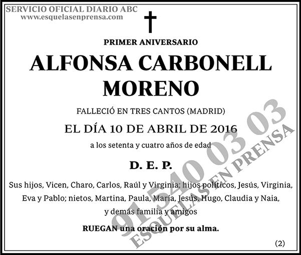 Alfonsa Carbonell Moreno